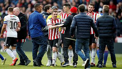 Sheffield United promoted to Premier League after Leeds draw with Villa