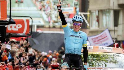 Ciclismo: danese Fuglsang vince la Liegi