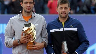 ATP: Matteo Berrettini empoche à Budapest son 2e titre ATP