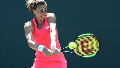 La Croate Petra Martic lors de l'Open de Miami le 25 mars 2019