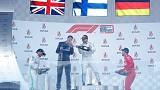 Mercedes make F1 history with fourth one-two in a row