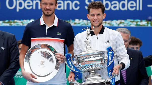 Thiem rides out difficult start to ease to Barcelona Open victory