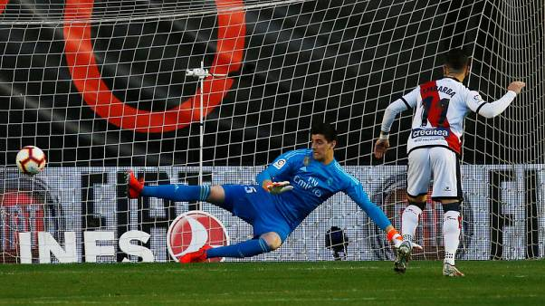 Madrid sink to 10th league loss at the hands of lowly Rayo