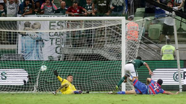 Champions Palmeiras start Serie A season with 4-0 win