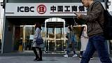 Top China bank ICBC, the world's largest, posts 4.1 percent first-quarter profit rise
