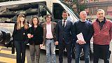 Palagiustizia Bari: tour candidati
