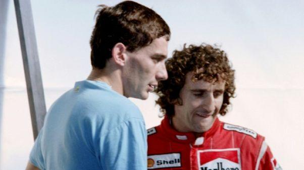"""Prost: """"non seulement ma carrière mais aussi ma vie sont liées à Senna"""""""