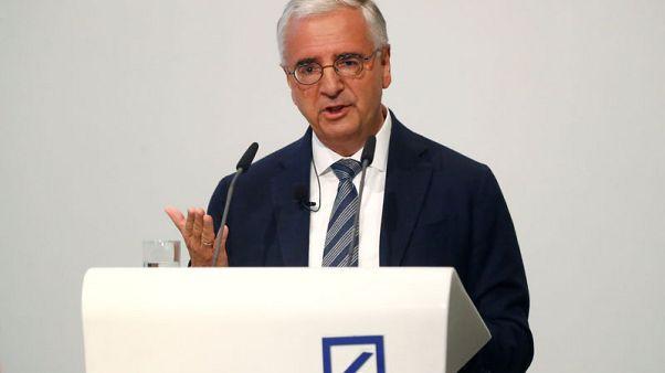 Deutsche Bank's Achleitner best-paid chairman of German companies -survey