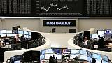 Italian banks lift European shares, Madrid hit by political uncertainty