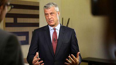 Kosovo president sees Washington as key to solve conflict with Serbia