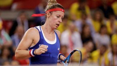 WTA: Pauline Parmentier éliminée d'entrée à Rabat