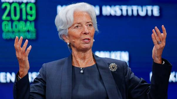 IMF's Lagarde expects U.S. and China to reach trade deal