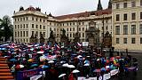 Czechs protest justice appointee, fear meddling in PM's case