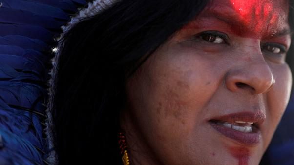 Breaking from tradition, indigenous women lead fight for land rights in Brazil