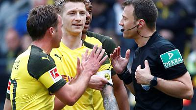 Dortmund's Reus banned for two matches, Wolf for three