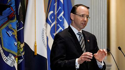 Rod Rosenstein, U.S. deputy attorney general who appointed Mueller, submits resignation