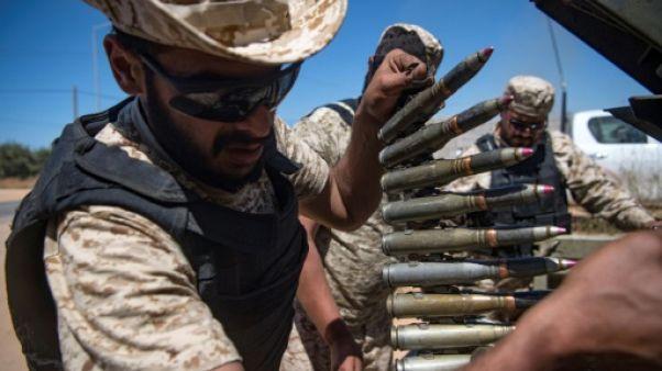 Au sud de Tripoli, la laborieuse avancée des troupes anti-Haftar