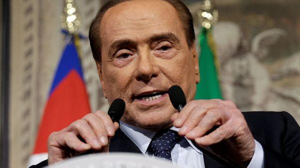 Former Italian PM Berlusconi hospitalised - report