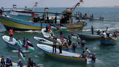 Israël réduit la zone de pêche à Gaza après le tir d'une roquette sur son territoire