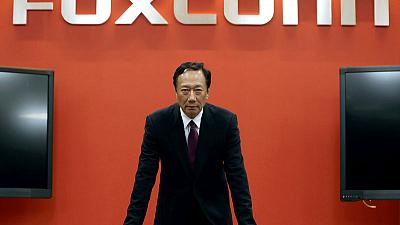 Taiwan Foxconn chairman travelling tonight for U.S. White House meet-source