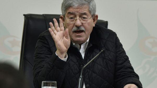 L'ancien Premier ministre algérien Ahmed Ouyahia, le 2 février 2019 à Alger