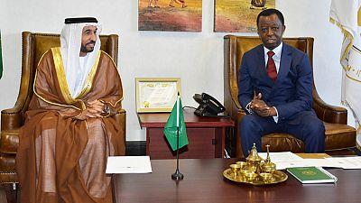 Pan-African Parliament President meets UAE Ambassador