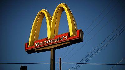 Bacon-loaded menu drives McDonald's sales jump, shares rise
