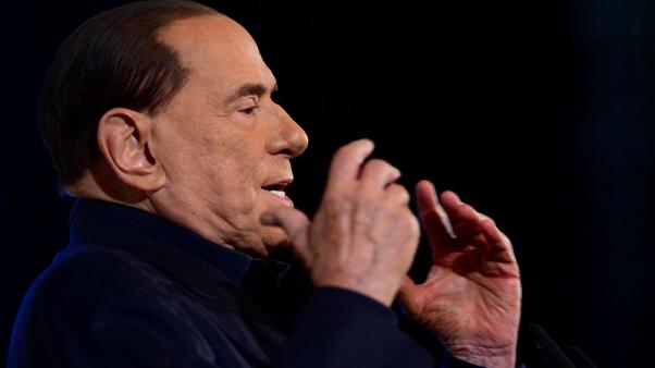 Italy's Berlusconi misses political event after hospitalisation
