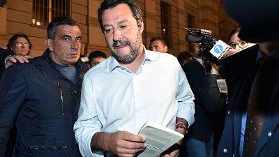 Salvini, raccolta firme per castrazione