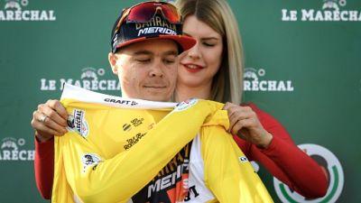 Tour de Romandie: le Slovène Tratnik remporte le prologue, Geraint Thomas 5e