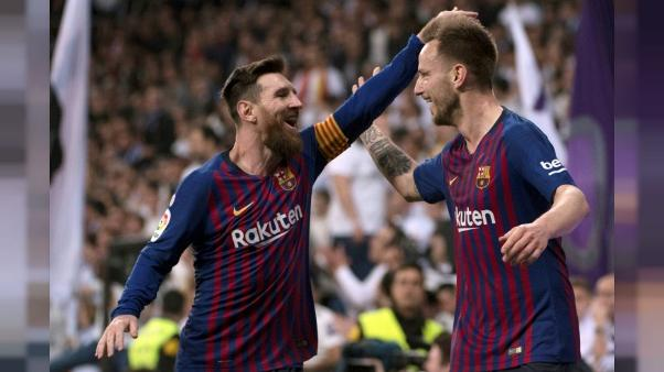 "Barcelone-Liverpool: ""Messi ouvre la voie et on le suit"", dit Rakitic"
