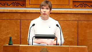 Estonian far-right minister goes after one day in office