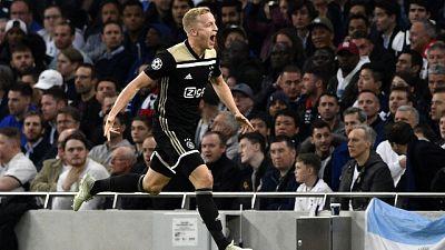 Champions: Tottenham-Ajax 0-1
