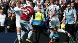 Villa's El Ghazi has red card rescinded, Leeds' Bamford charged