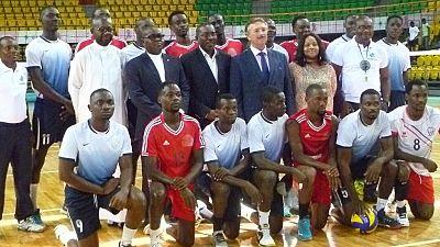 Des équipements allemands pour la Fédération Gabonaise de Volleyball