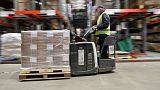 Exports sag, UK factories report lower Brexit stockpile boost - PMI survey