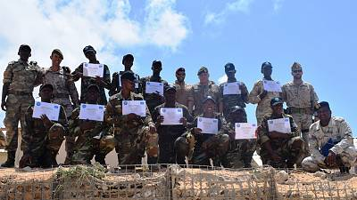 European Union Training Mission Somalia (EUTM-S) completes 'Train-The-Trainers Course' for Somali National Army