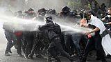 Tension à Paris pour des manifestations du 1er-mai sous haute surveillance