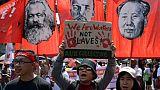 Philippines: manifestations du 1er mai pour dénoncer la politique de Duterte