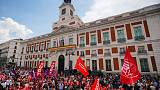 Spanish unions use May Day march to pressure Socialists on reforms