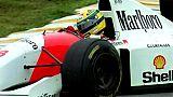 Hommage sur le circuit d'Interlagos pour les 25 ans de la mort de Senna