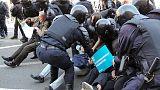 جماعة حقوقية: الشرطة الروسية تعتقل أكثر من 100 في احتجاجات عيد العمال