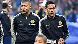 Paris-SG: suspensions probables pour Mbappé et Neymar