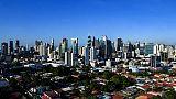 Vue du quartier d'affaires de Panama City, le 25 avril 2019