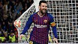 Ligue des champions: Messi, chef d'orchestre et chef de bande