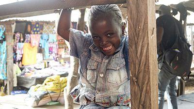 Es nouvelles des enfants de la Guinée
