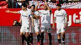 Getafe, Sevilla and Valencia eye Champions League riches