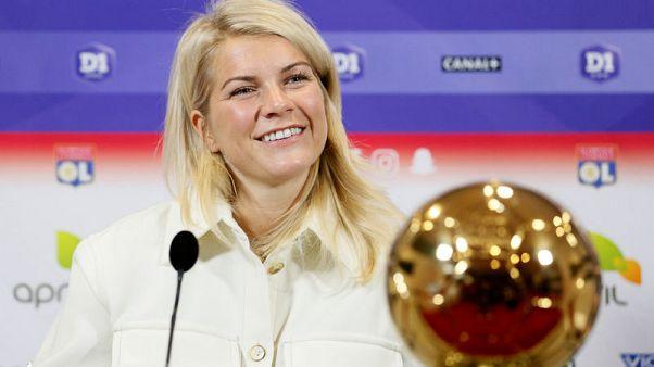 غياب الفائزة بالكرة الذهبية عن تشكيلة النرويج في كأس العالم للسيدات