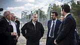 Salvini a muro anti-migranti in Ungheria