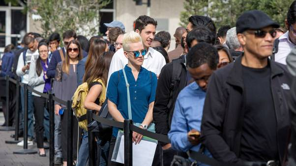 استقرار طلبات إعانة البطالة الأمريكية الأسبوع الماضي